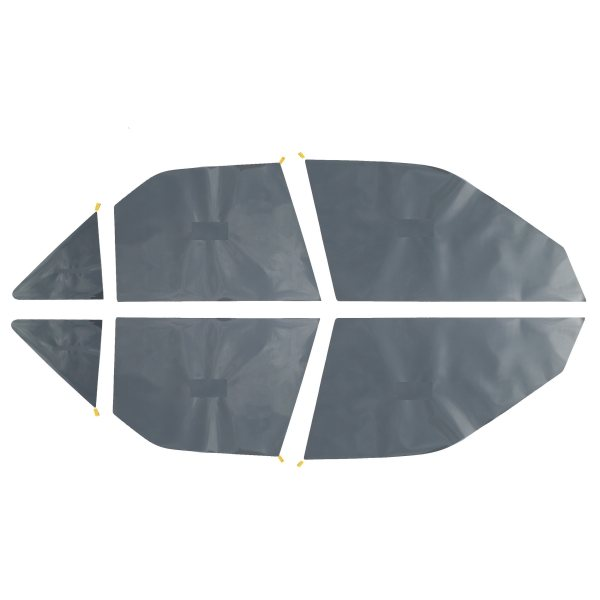 رچسب دودی شیشه خودرو پرشین دودی مدل FT2 مناسب برای پژو 405 مجموعه 6 عددی