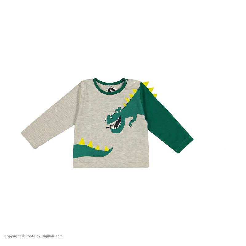 ست تی شرت و شلوار پسرانه تودوک مدل 2151167-90