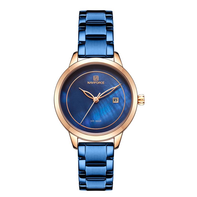 ساعت مچی عقربه ای زنانه نیوی فورس مدل NF5008blu              خرید (⭐️⭐️⭐️)