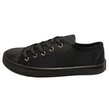 کفش راحتی مدل لیدر کد A7 رنگ مشکی