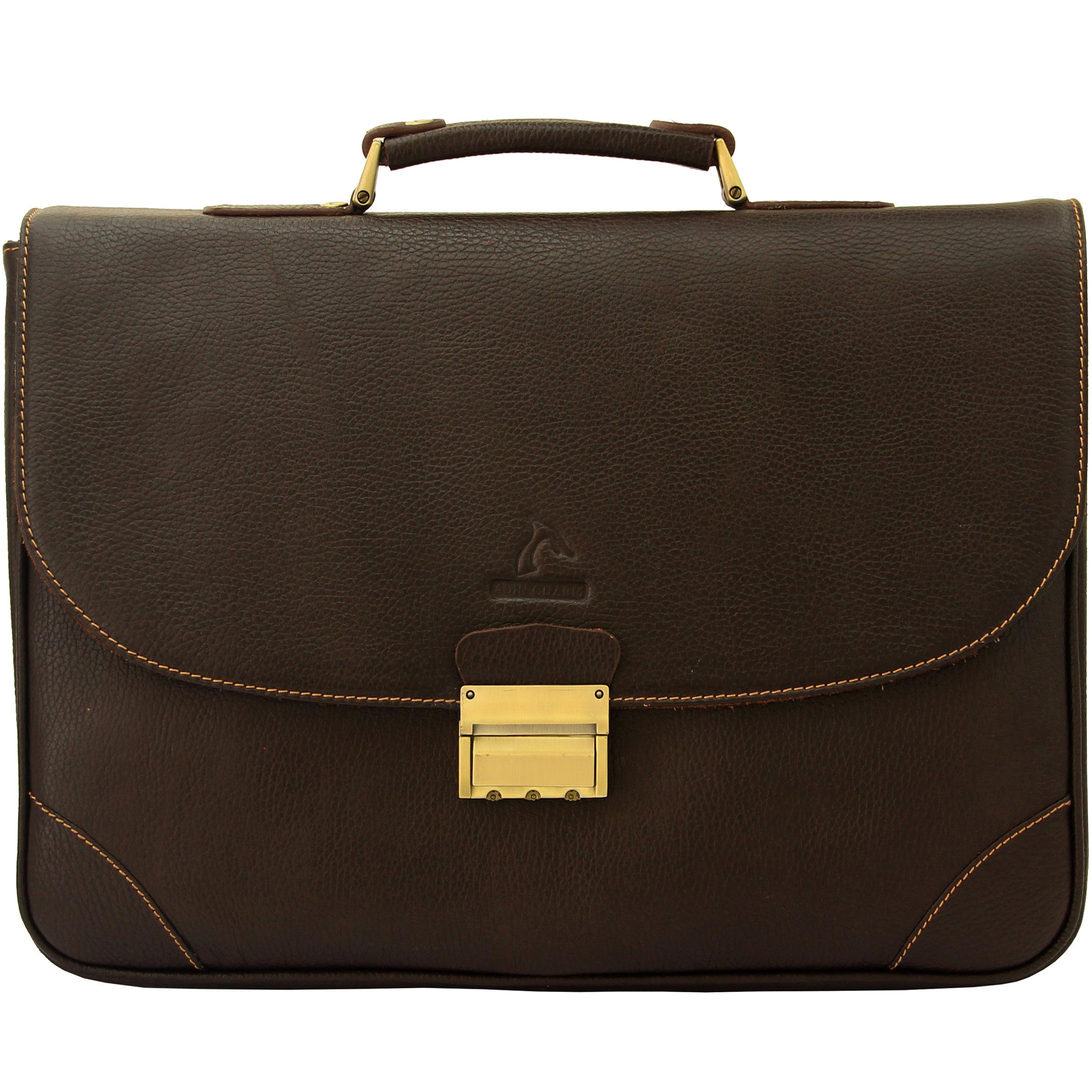 کیف اداری مردانه آدین چرم مدل DL60.1