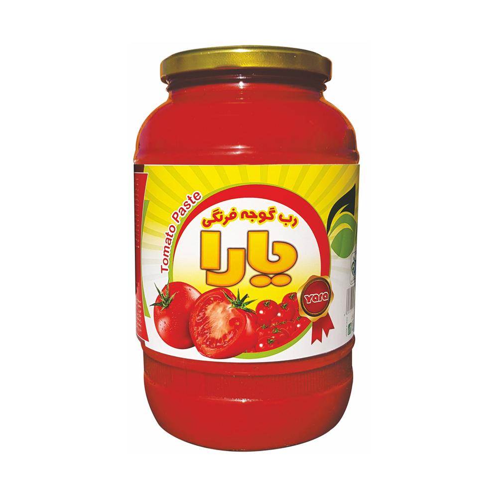 رب گوجه فرنگی یارا - 1500 گرم