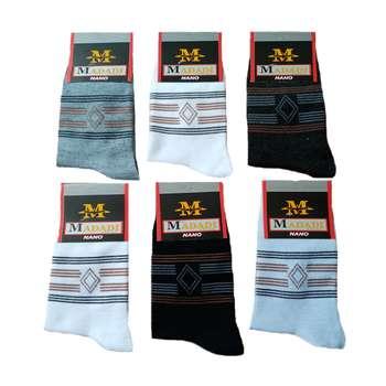 جوراب مردانه کد 115 مجموعه 6 عددی