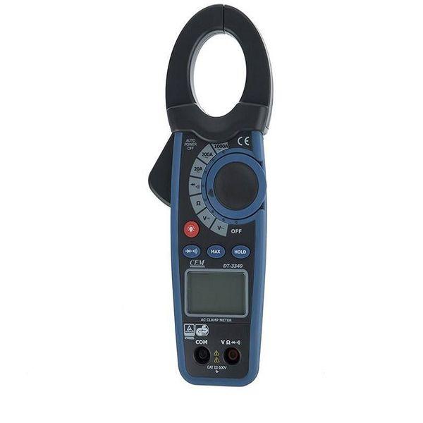 مولتی متر کلمپی دیجیتال سی ای ام مدل DT-3340