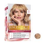 کیت رنگ مو لورآل مدل Excellence شماره 8 حجم 48 میلی لیتر رنگ بلوند متوسط thumb