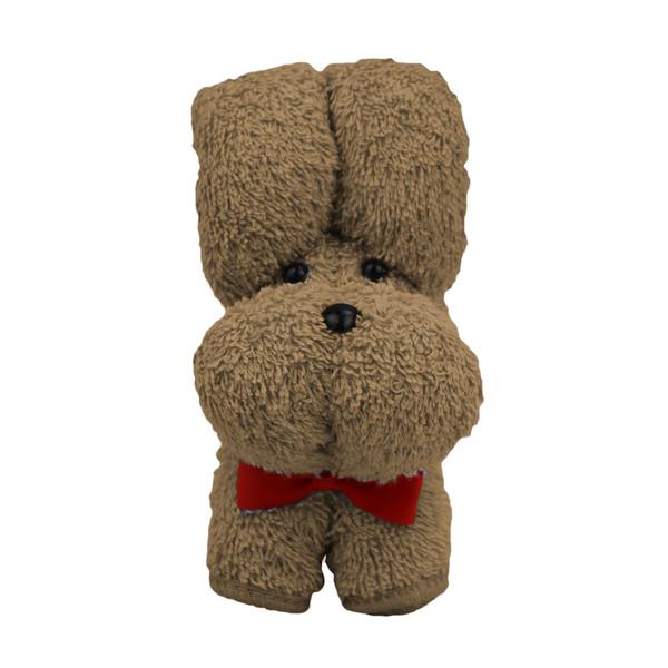 عروسک طرح سگ پوپو کد 001 ارتفاع 14 سانتی متر
