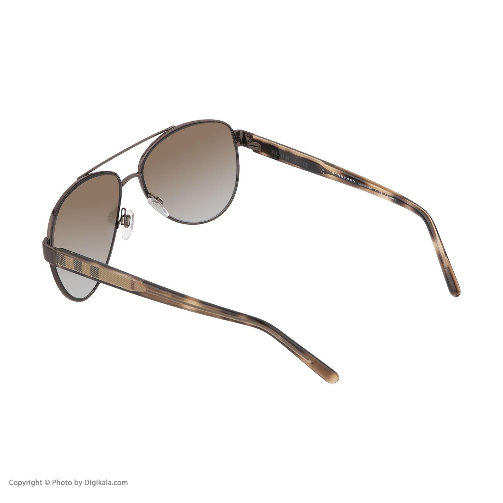 عینک آفتابی زنانه بربری مدل BE 3084S 1226T5 60   -  - 5