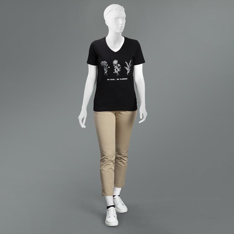 تی شرت زنانه مون مدل 163117099