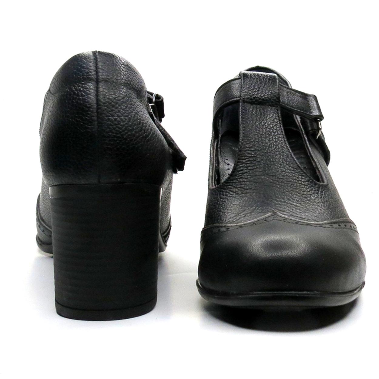 کفش زنانه آر اند دبلیو مدل 454 رنگ مشکی -  - 5