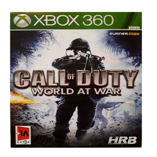 بازی call of duty world at war مخصوص xbox 360