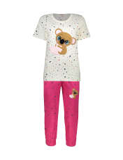 ست تی شرت و شلوارک راحتی زنانه مادر مدل 2041103-66 -  - 1