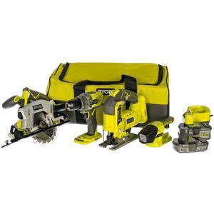 مجموعه ۴ عددی ابزار شارژی ریوبی مدل ۲۵۲