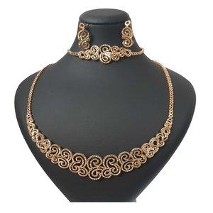 نیم ست طلا 18 عیار زنانه  گالری یارطلا کد SR23-G