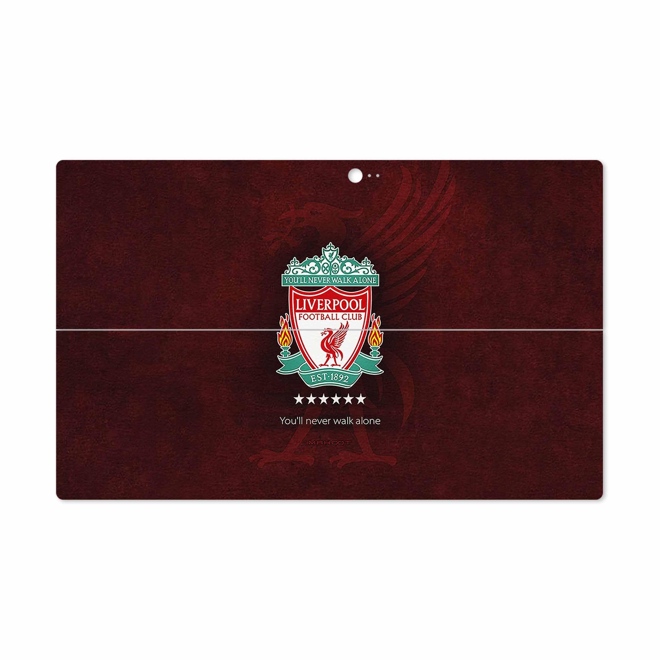 بررسی و خرید [با تخفیف]                                     برچسب پوششی ماهوت مدل Liverpool مناسب برای تبلت مایکروسافت Surface 2 RT 2013                             اورجینال