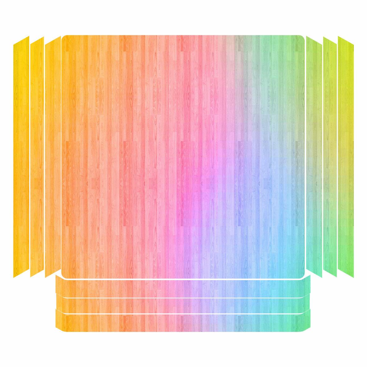 خرید اینترنتی [با تخفیف] برچسب پلی استیشن ۴ پرو مدل رنگارنگ اورجینال