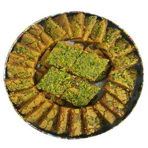 سوهان کره ای زعفرانی سوغات قم - 500 گرم