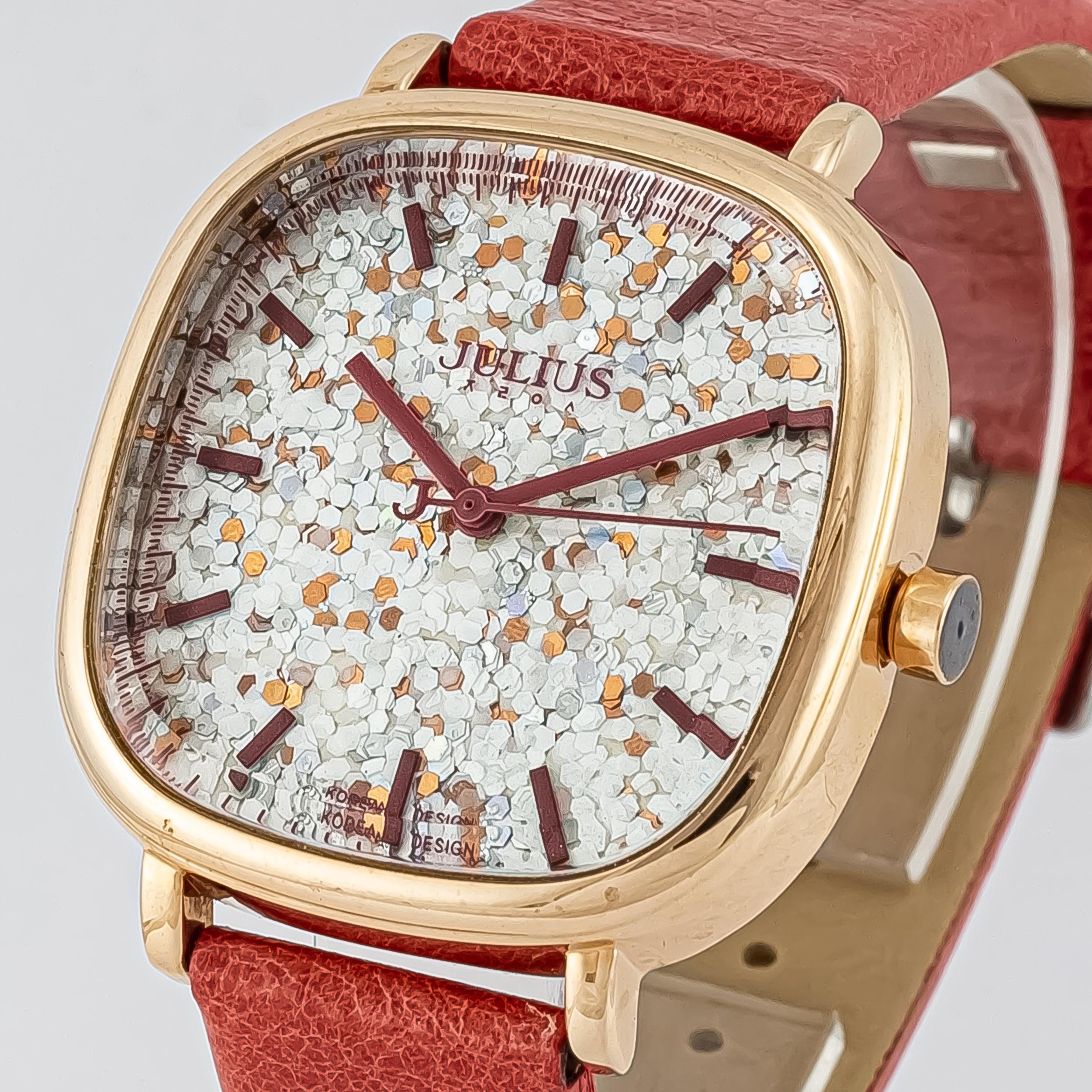 ساعت مچی عقربه ای زنانه جولیوس مدل JA889              ارزان