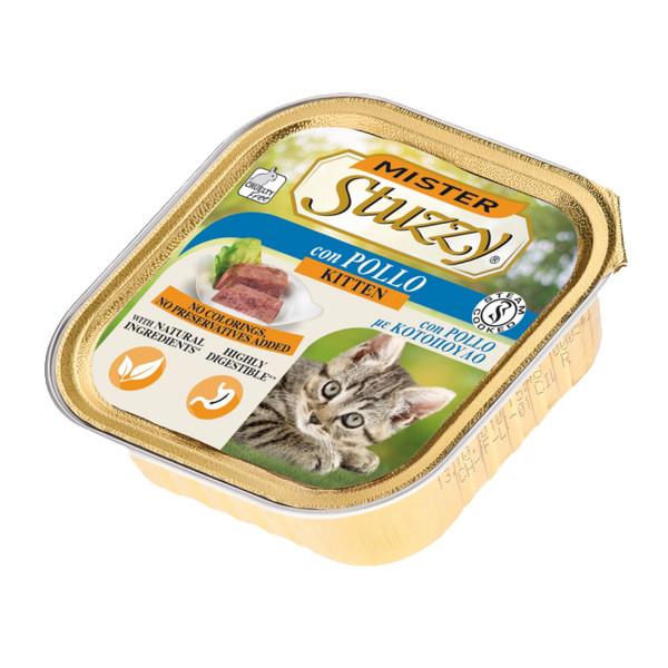 کنسرو غذای بچه گربه استوزی مدل مرغ وزن 100 گرم