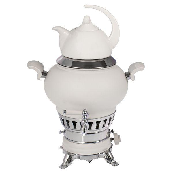سماور گازی رضایی کد L-808 ظرفیت 5 لیتر