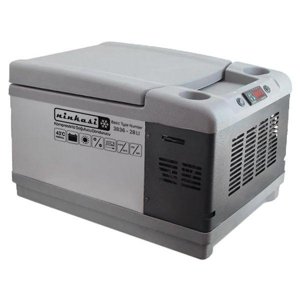 یخچال خودرو نینکاسی مدل 3836_28Lt