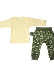 ست تیشرت و شلوار نوزادی کد 400 -  - 3