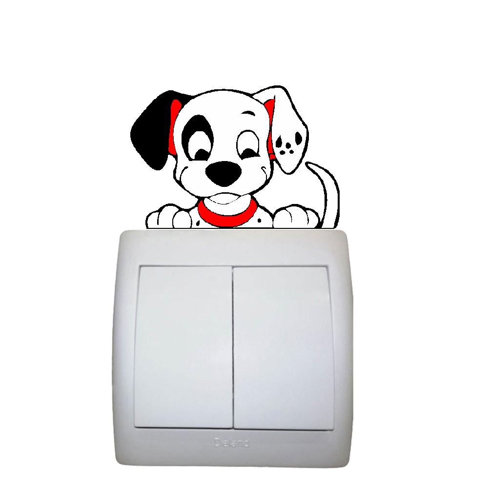 استیکر فراگراف FG مدل سگ