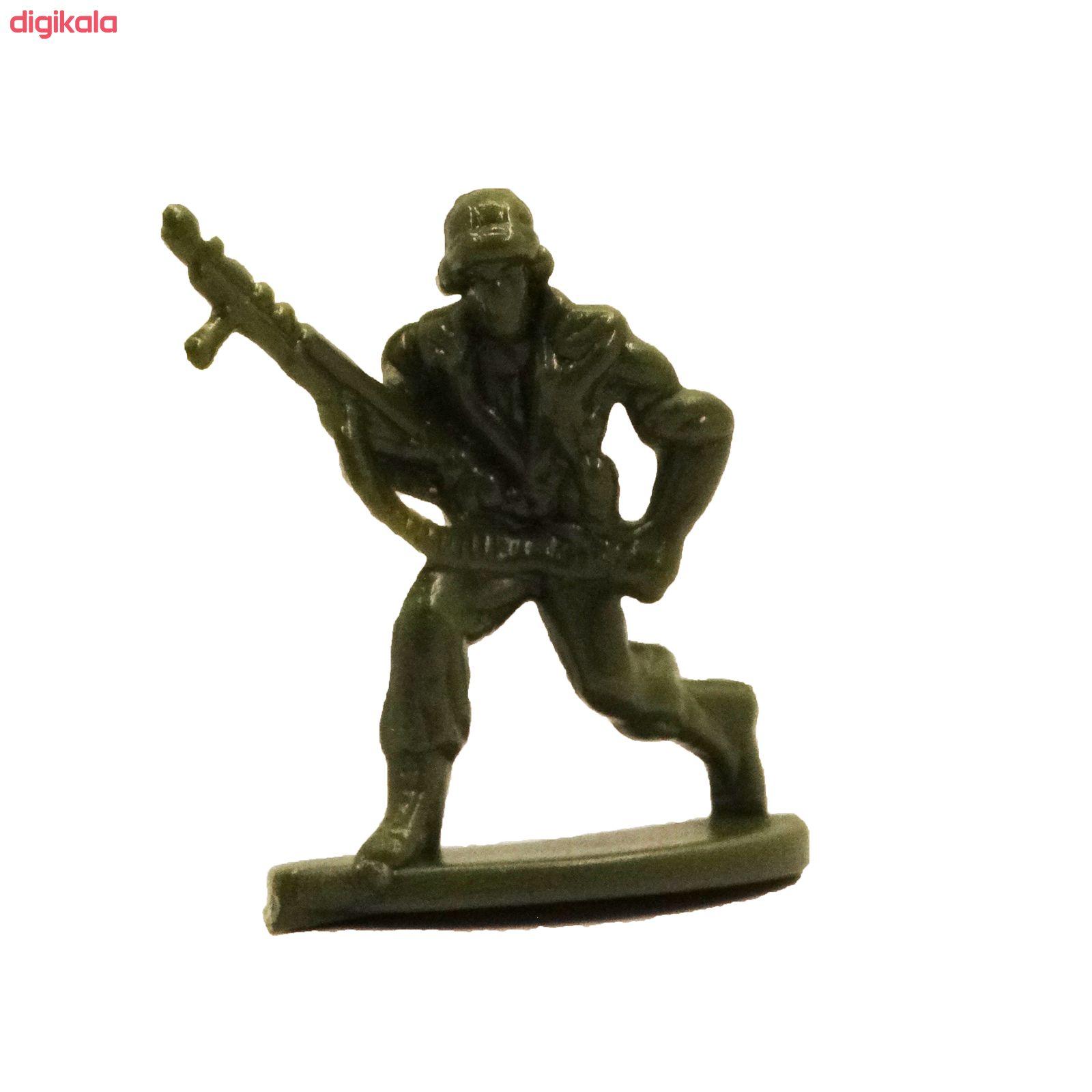 اسباب بازی جنگی مدل پادگان مجموعه 23 عددی main 1 17