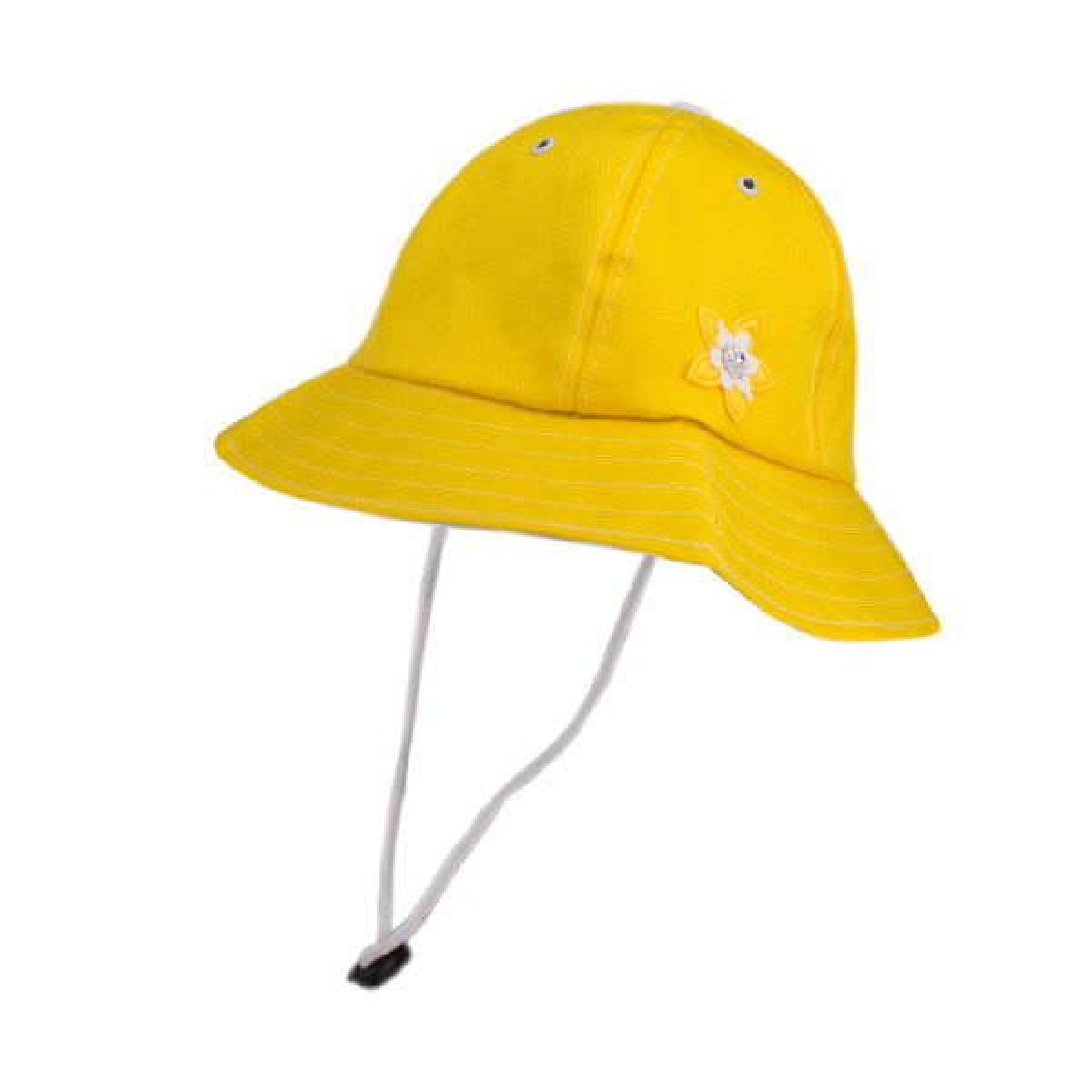 کلاه آفتابگیر بچگانه طرح گل کد KOB-32
