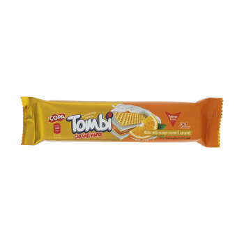 ویفر تامبی کوپا با طعم پرتقال و کارامل - 18 گرم