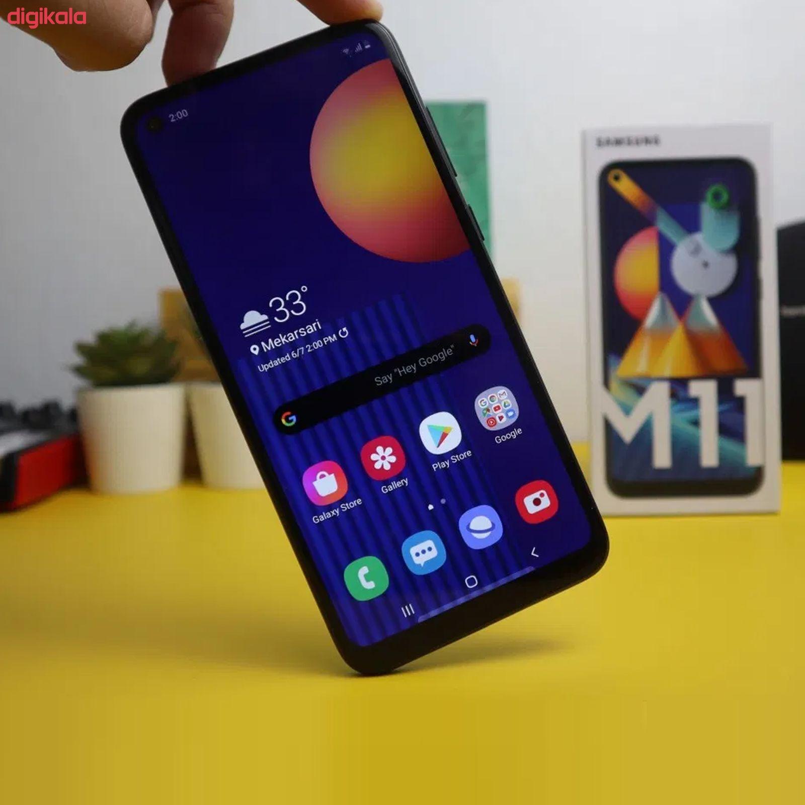 گوشی موبایل سامسونگ مدل  Galaxy M11 SM-M115F/DS دو سیم کارت ظرفیت 32 گیگابایت main 1 16