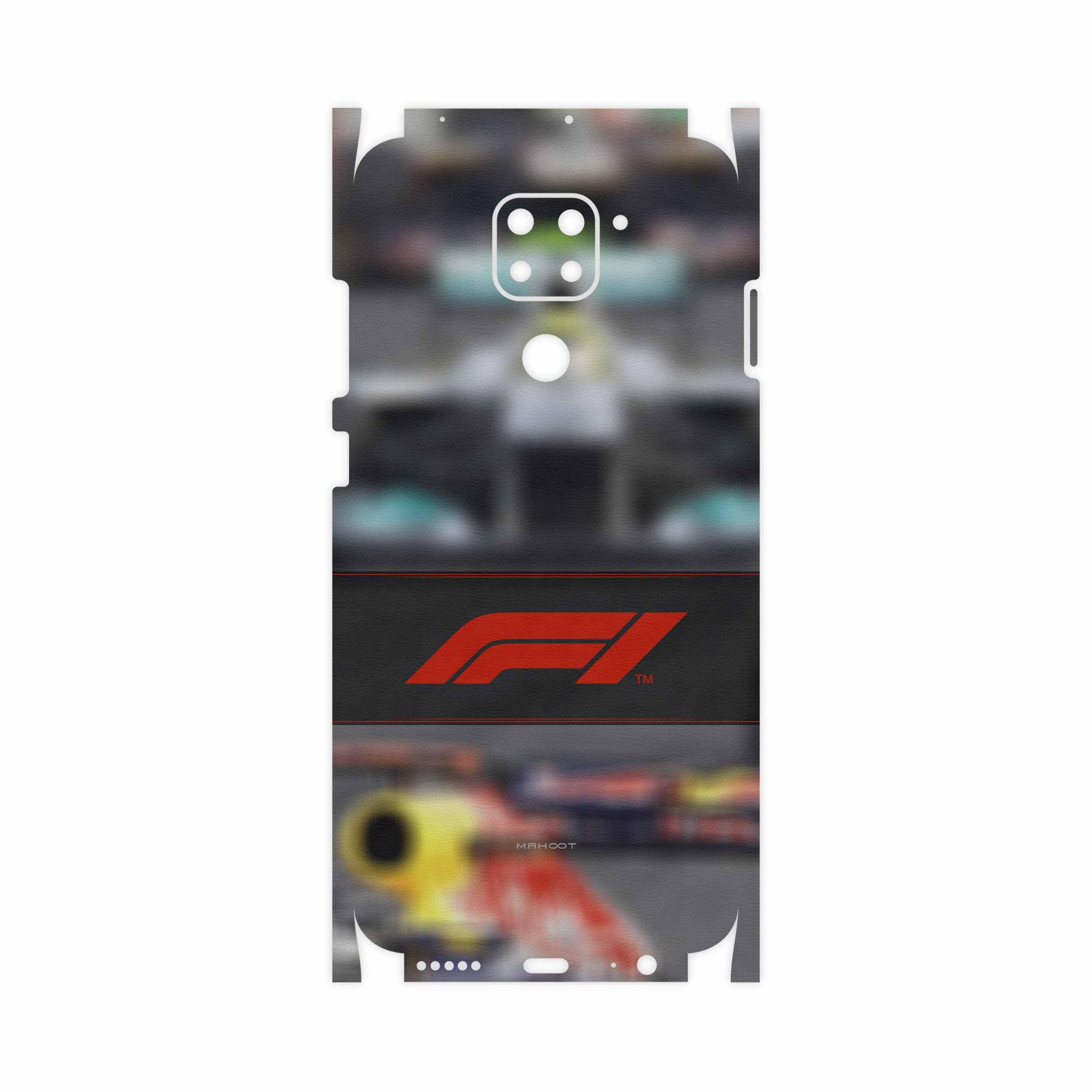 برچسب پوششی ماهوت مدل Formula One-FullSkin مناسب برای گوشی موبایل شیائومی Redmi Note 9