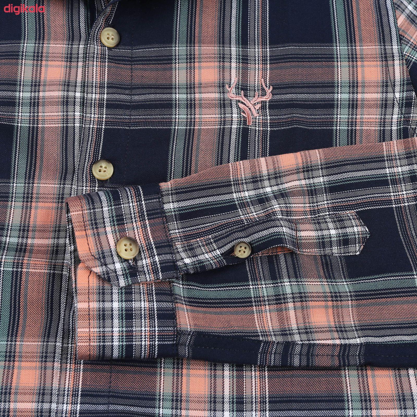 پیراهن پسرانه ناوالس کد G-20119-NV main 1 3