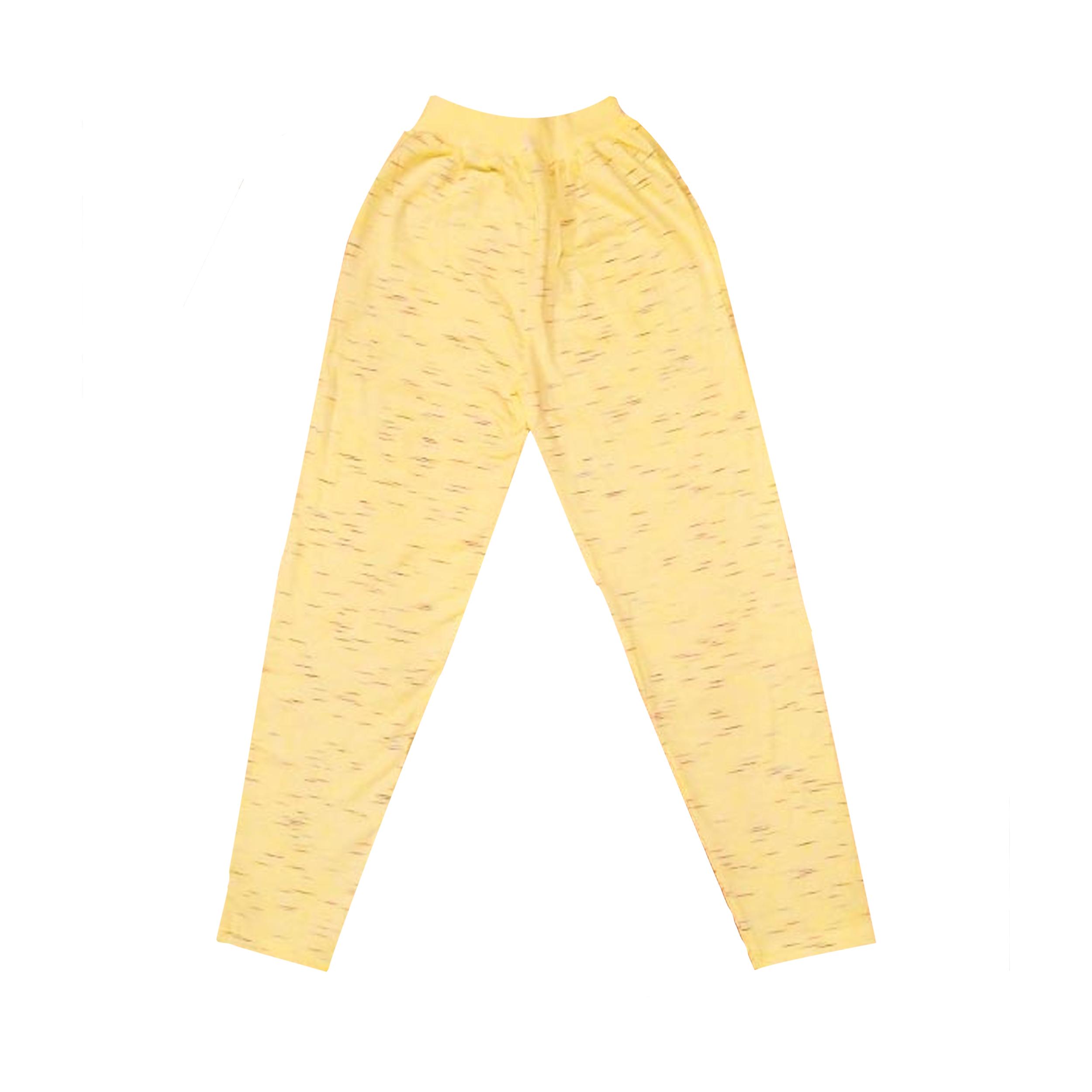 شلوار دخترانه مدل Truffle کد 99 رنگ زرد