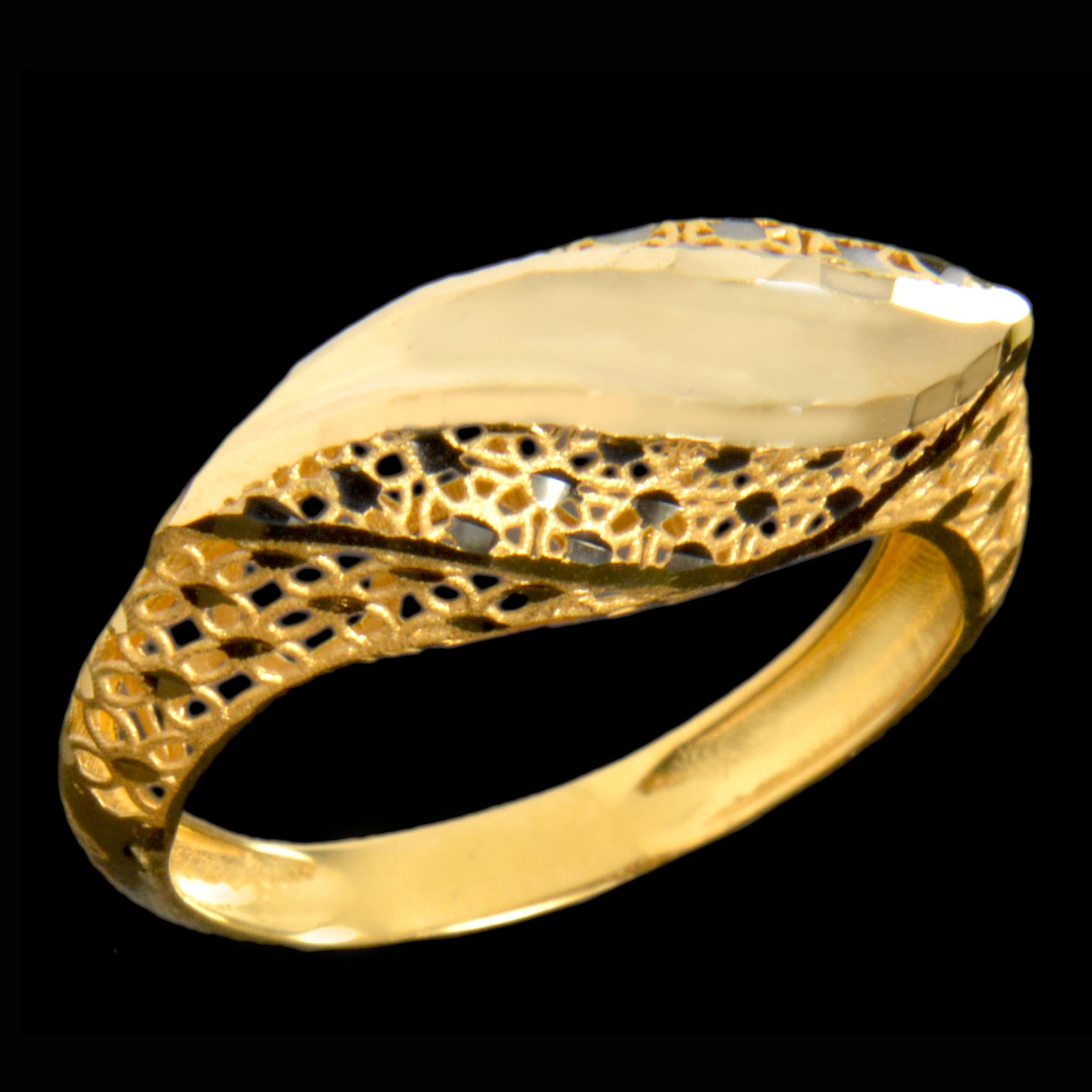 انگشتر طلا 18 عیار زنانهکد 67119