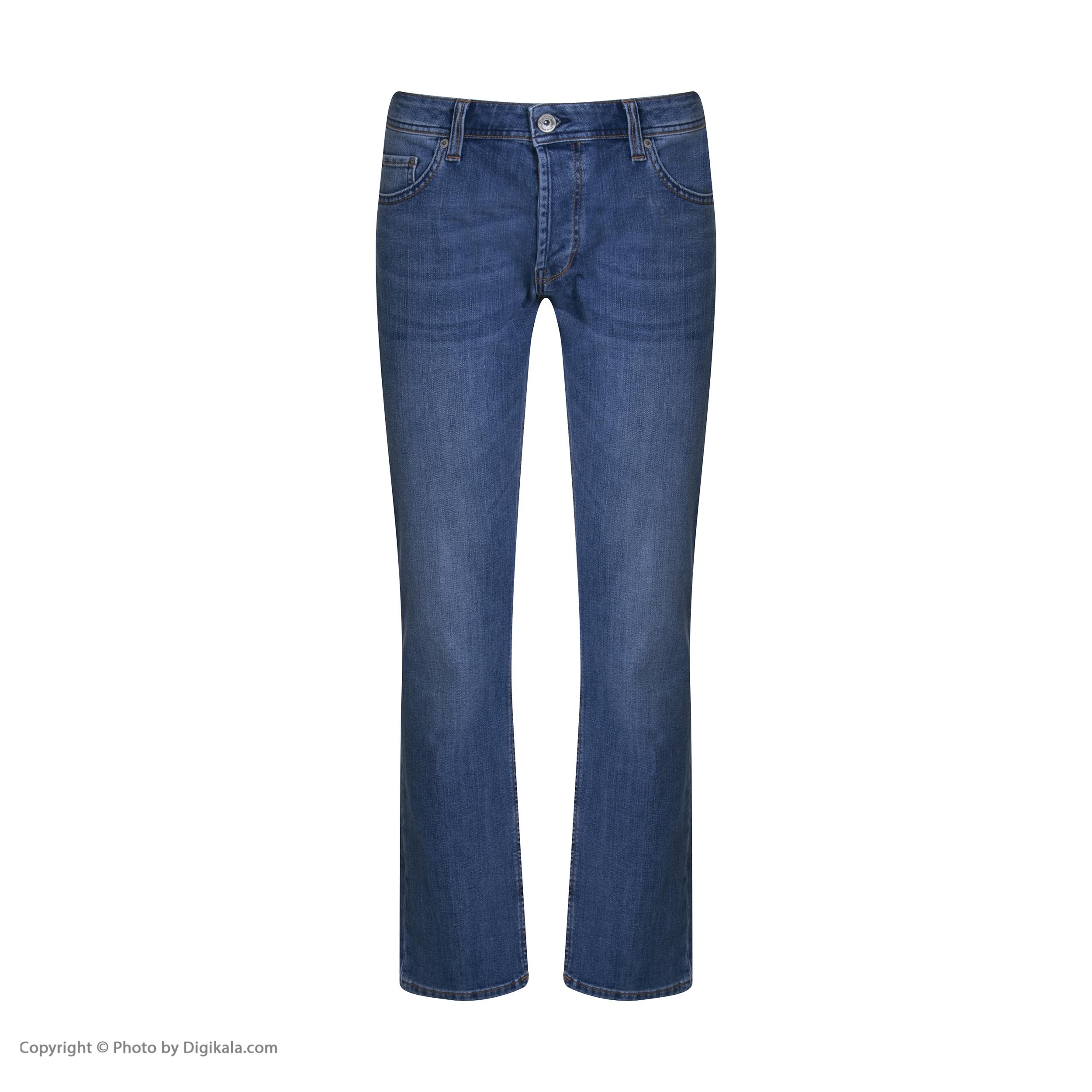شلوار جین مردانه کالینز مدل CL1019135-LIGHTTROYWASH -  - 3