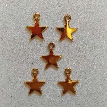 آویز دستبند طرح ستاره کد HN1555 بسته 5 عددی