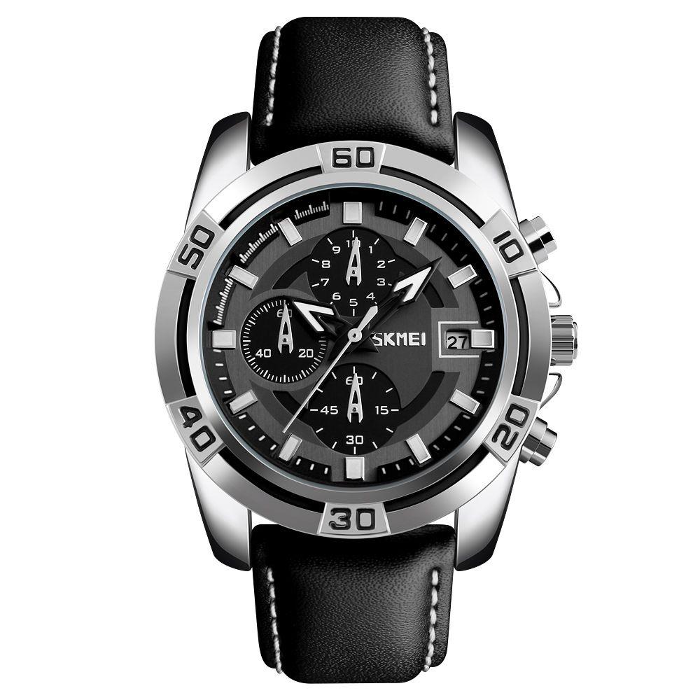ساعت مچی عقربه ای مردانه اسکمی مدل 9156M-NP -  - 2