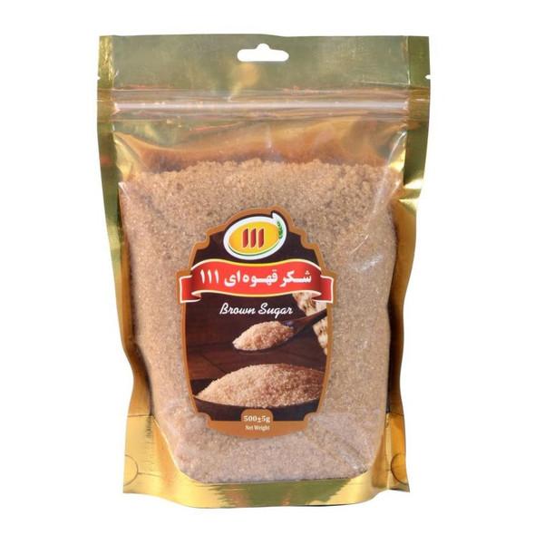 شکر قهوه ای 111 - 500 گرم