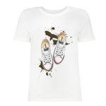 تی شرت زنانه کد SK0004-47