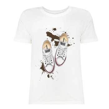 تی شرت زنانه کد SK0004-48