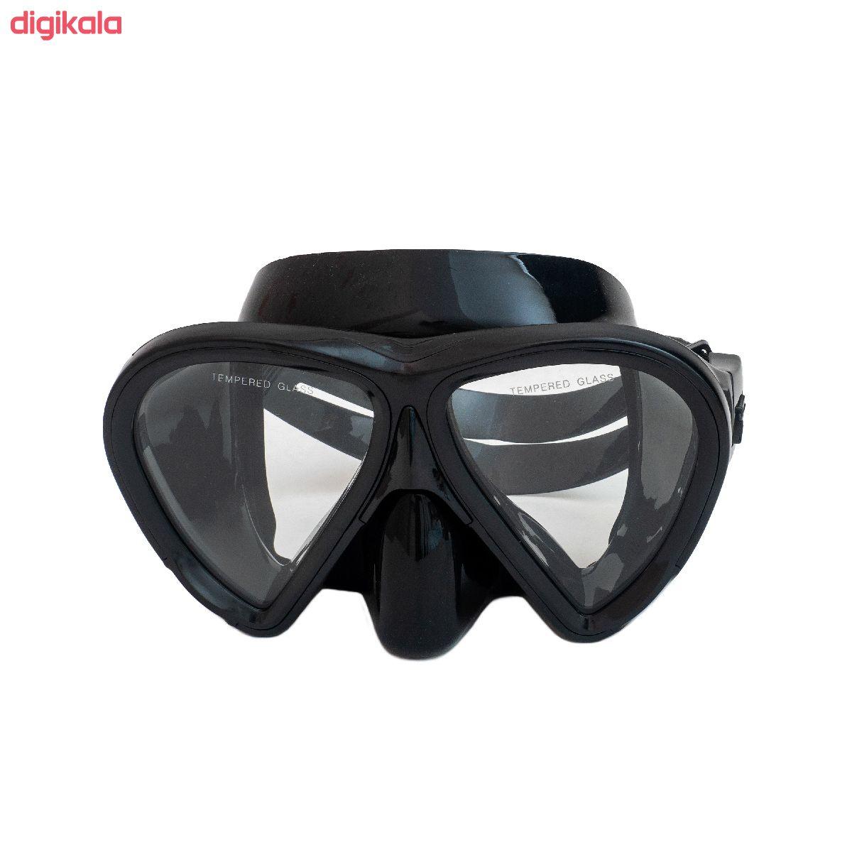 عینک و اسنورکل و فین غواصی آکوا پرو کد 58924 main 1 5