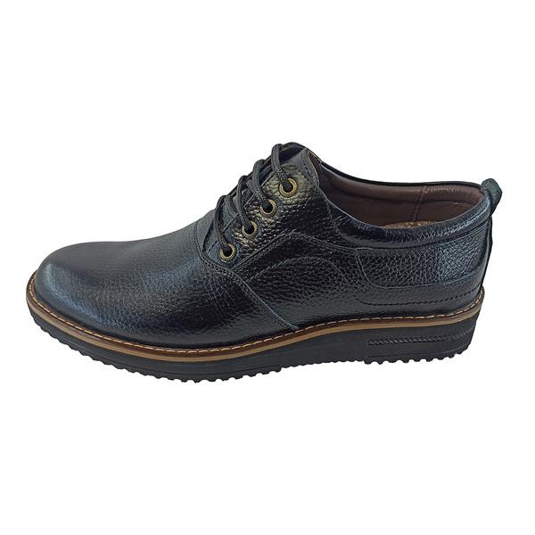 کفش تمام چرم طبیعی مردانه مدل azarkar-111