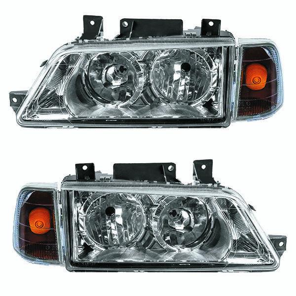 چراغ جلو خودرو مدل pr-010 مناسب برای پژو 405 بسته 2 عددی