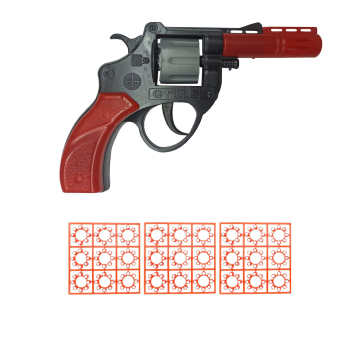 تفنگ بازی گلدن گان مدل naabsell-p90 مجموعه 3 عددی