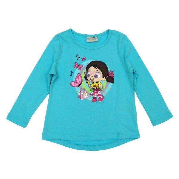 تی شرت دخترانه ال سی وایکیکی کد 9WM939Z4