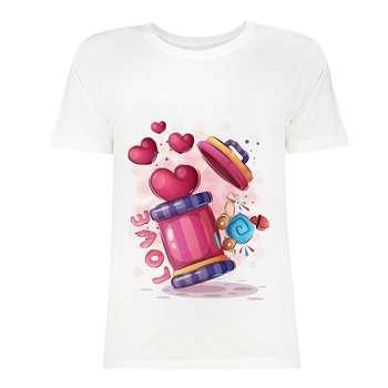 تی شرت زنانه کد SK0004-119
