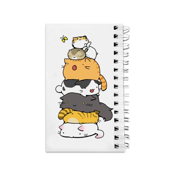 دفترچه یادداشت مدل to do list طرح گربه فانتزی کد 519697