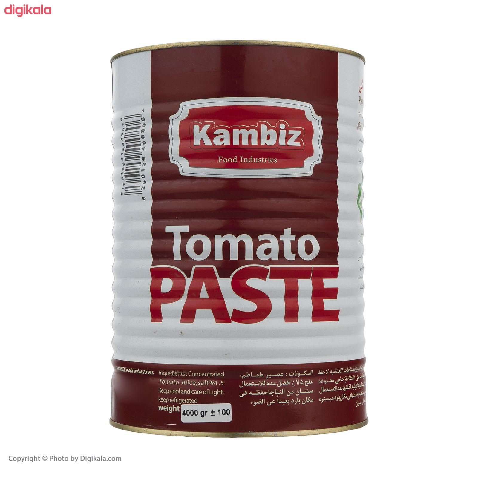 کنسرو رب گوجه فرنگی کامبیز - 4 کیلوگرم main 1 3