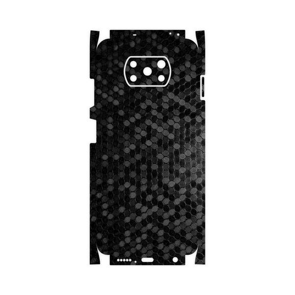 برچسب پوششی ماهوت مدل Honey-Comb-Circle-FullSkin مناسب برای گوشی موبایل شیائومی Poco X3 NFC