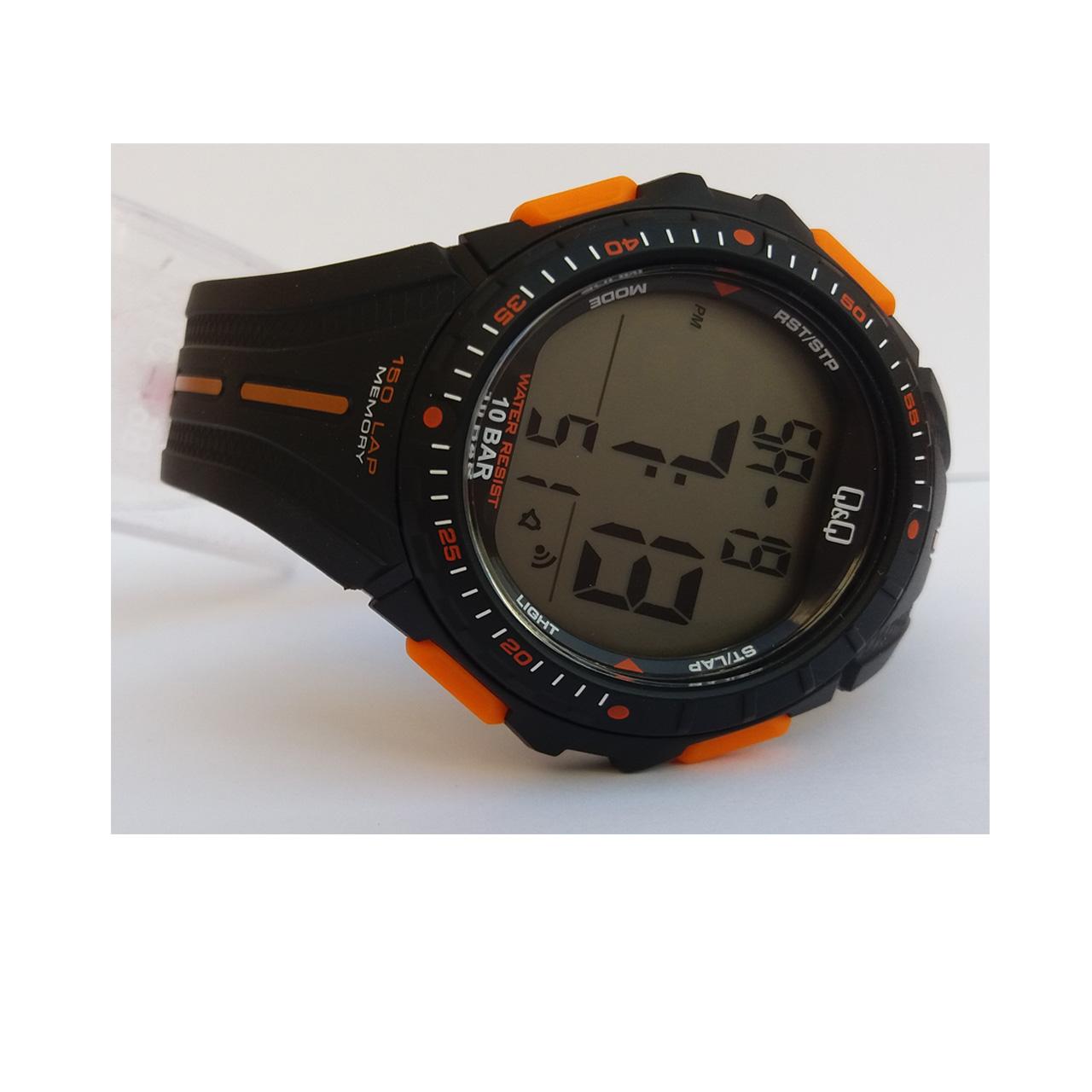 ساعت مچی دیجیتال مردانه کیو اند کیو مدل M102J002Y             قیمت